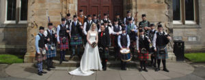 scottish wedding band